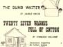 1985 The Dumb Waiter / 27 Wagons Full of Cotton