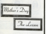 1996 Mother's Day