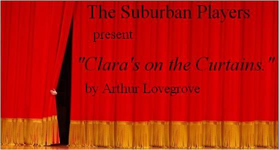 claras on the curtains