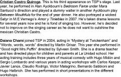 Programa Pagina 7 Cast info - Quiroga HD