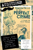 perfect crime audition poster