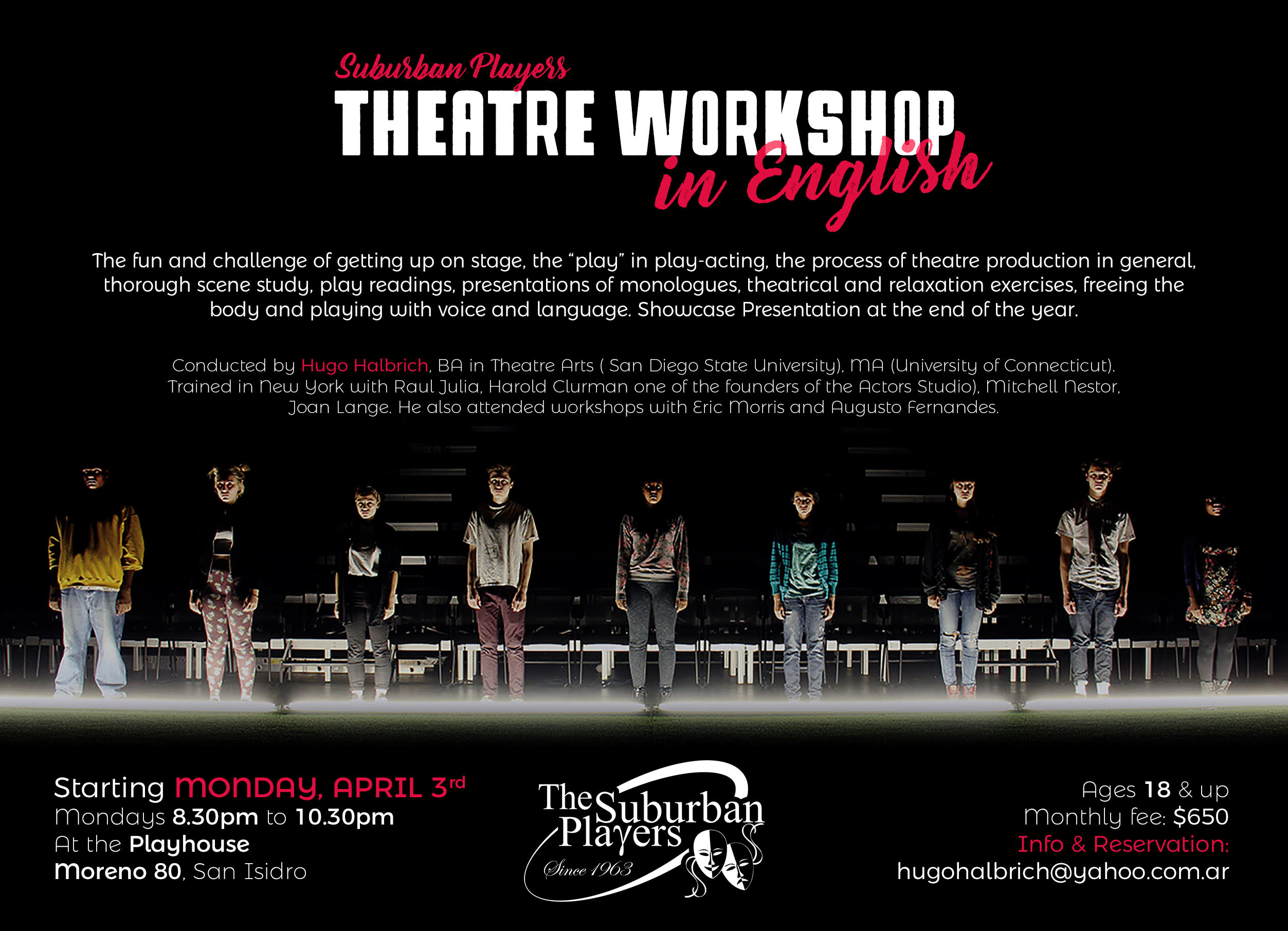 theatre workshop 2017